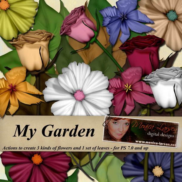 My Garden - actions by Monica Larsen