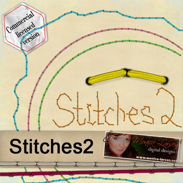 Stitches 2 by Monica Larsen