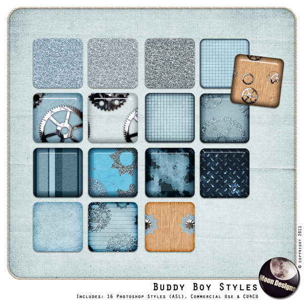 Buddy Boy Styles by MoonDesigns