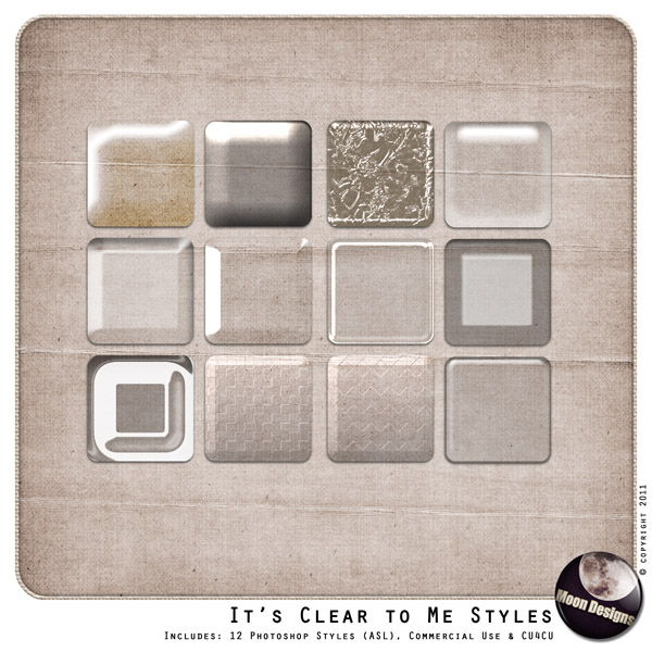 It is Clear to Me Styles by MoonDesigns