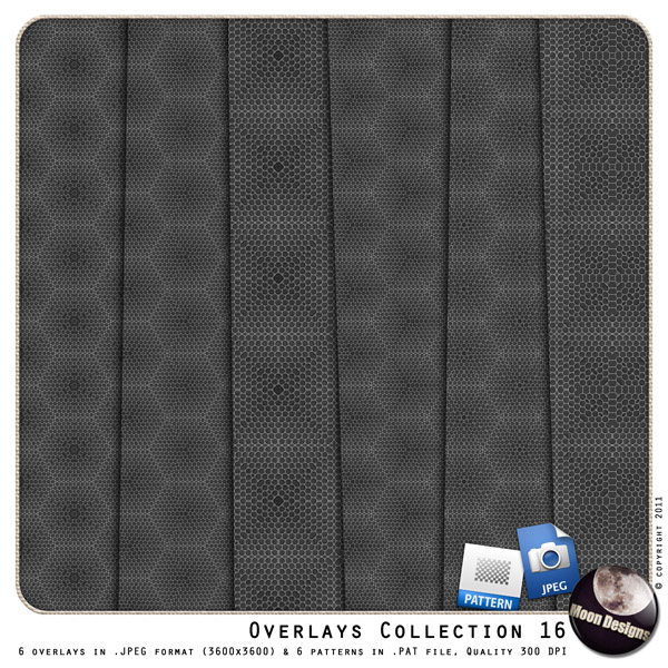 Overlays Collection 16 by MoonDesigns