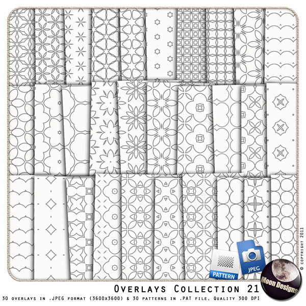 Overlays BUNDLE Collection 21 by MoonDesigns