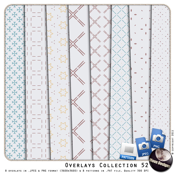 Overlays Collection 52 by MoonDesigns