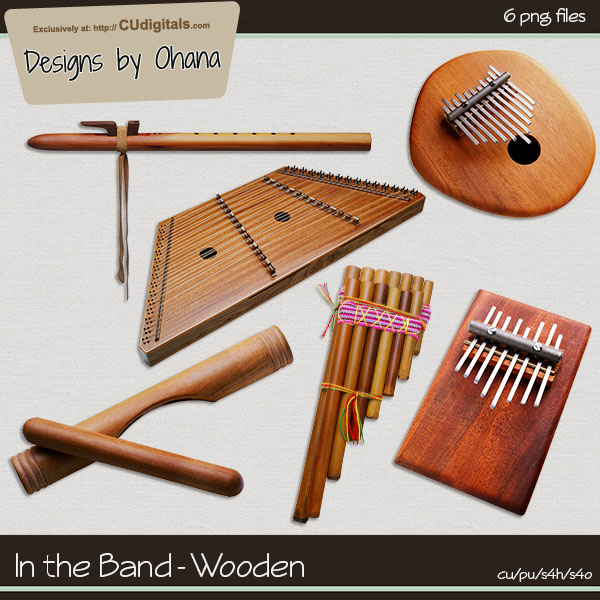 In the Band - Wooden - EXCLUSIVE Designs by Ohana