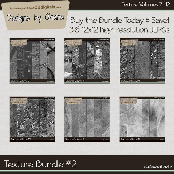 Paper Textures Bundle 2 - EXCLUSIVE Designs by Ohana