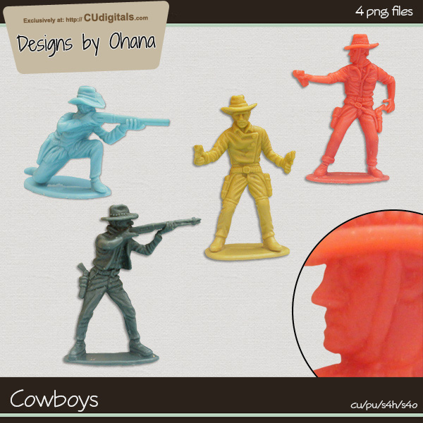 Cowboys - EXCLUSIVE Designs by Ohana