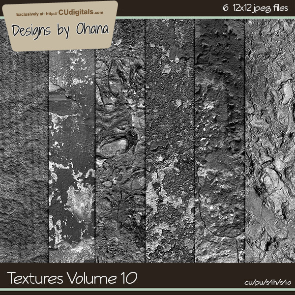 Paper Textures Vol 10 - EXCLUSIVE Designs by Ohana