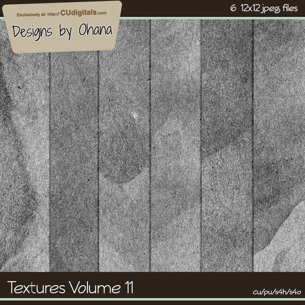 Paper Textures Vol 11 - EXCLUSIVE Designs by Ohana