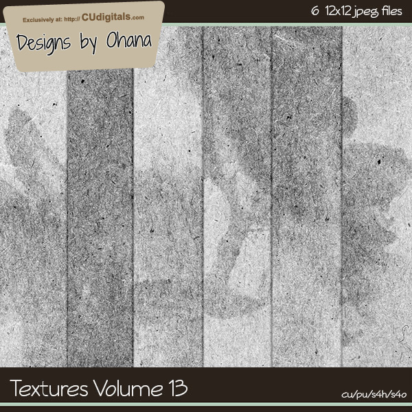 Paper Textures Vol 13 - EXCLUSIVE Designs by Ohana