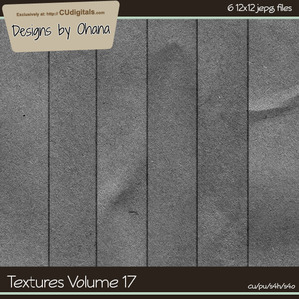 Paper Textures Vol 17 - EXCLUSIVE Designs by Ohana