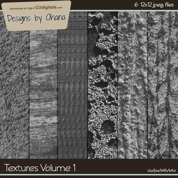 Paper Textures Vol 1 - EXCLUSIVE Designs by Ohana