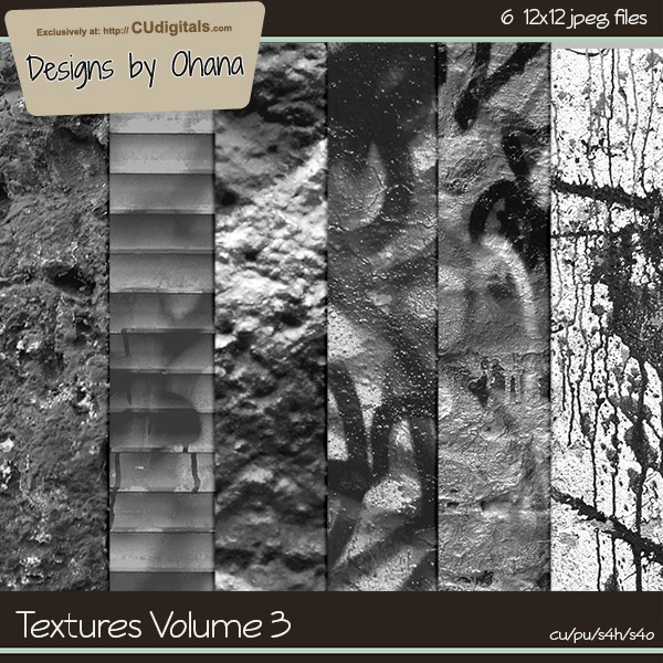 Paper Textures Vol 3 - EXCLUSIVE Designs by Ohana