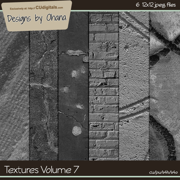 Paper Textures Vol 7 - EXCLUSIVE Designs by Ohana