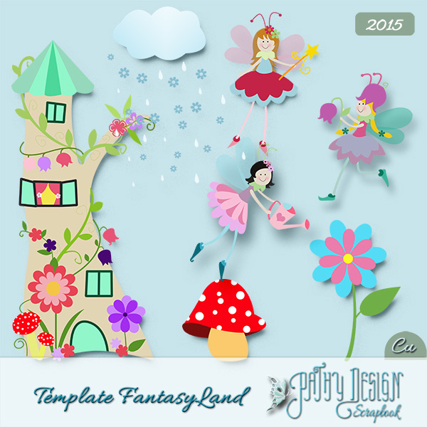 Template Fantasy Land Pathy Design