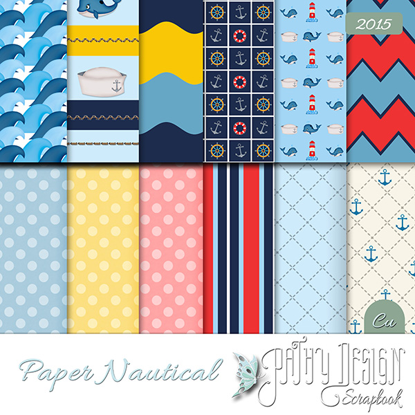 Paper Nautical by Pathy Design