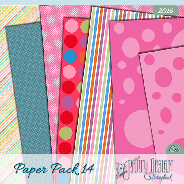 Paper Pack 14 Pathy Design