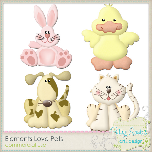 Elements Love Pets by Pathy Design