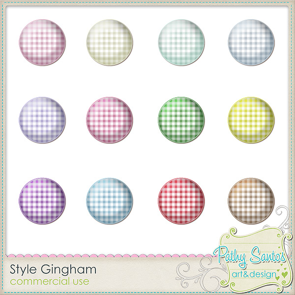 Style Gingham by Pathy Design
