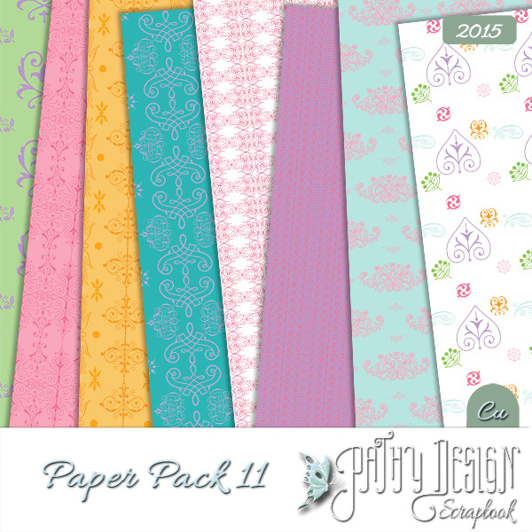 Paper Pack 11 Pathy Design