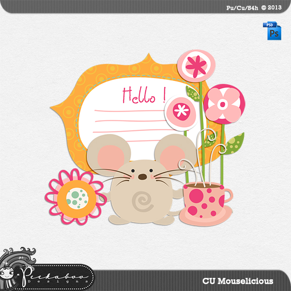Mouse a Licious Layered Template by Peek a Boo Designs