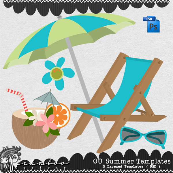 Summer Layered Template by Peek a Boo Designs