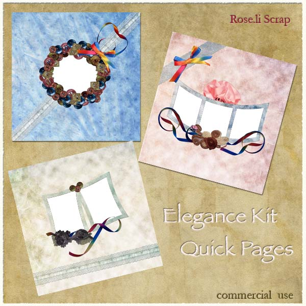Elegance Kit QPs by Rose.li