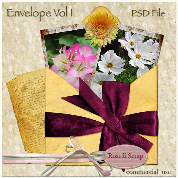 Envelope Vol I by Rose.li