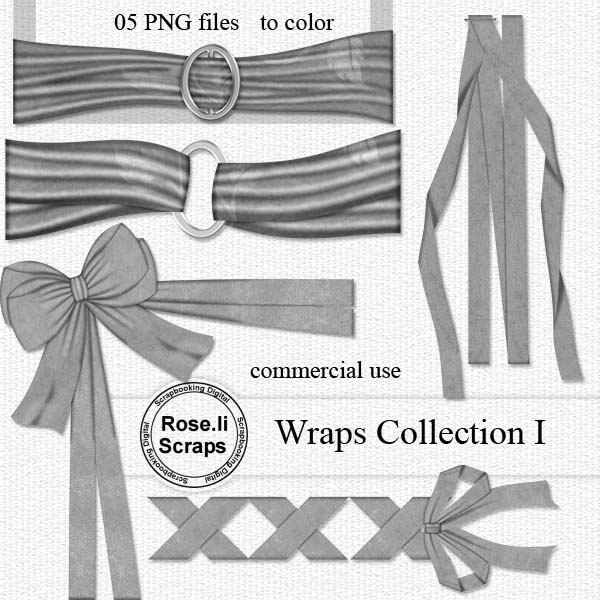Wraps Collection I by Rose.li