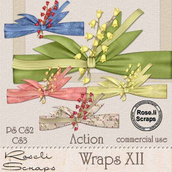 Action - Wraps XII by Rose.li