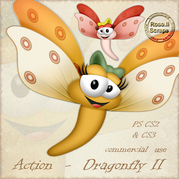 Action - Dragonfly II by Rose.li