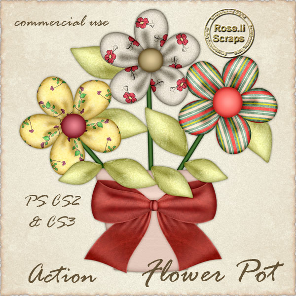 Action - Flower Pot by Rose.li
