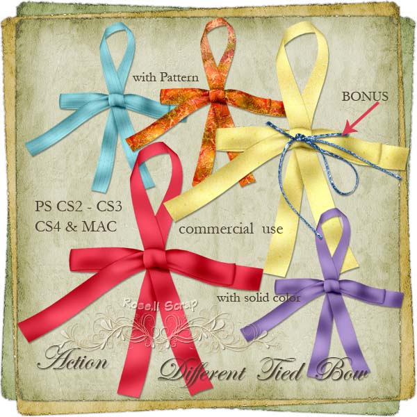 Action - Different Tied Bow by Rose.li