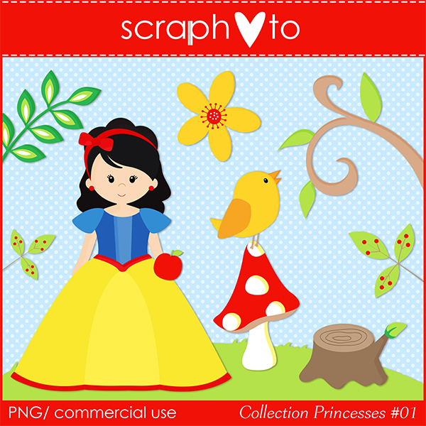 Princesses Clipart by Scraphoto Studio