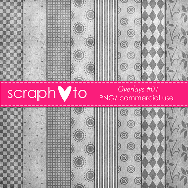 Overlays #01 by Scraphoto Studio