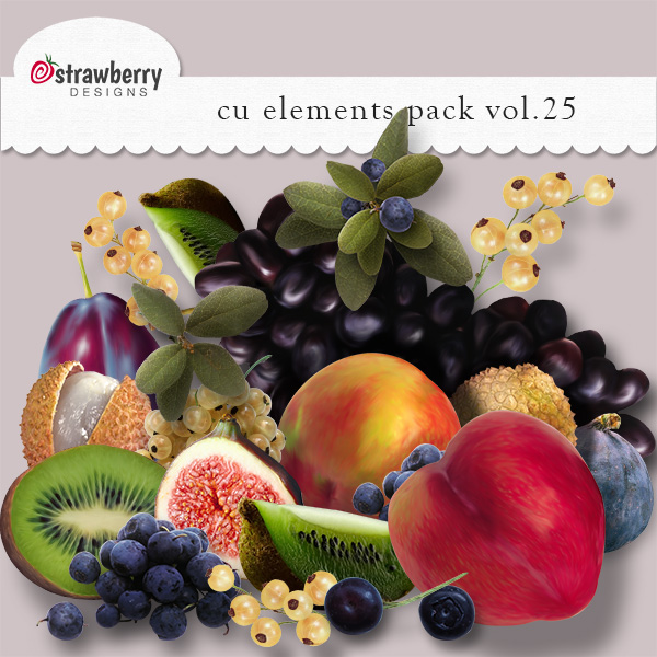 Fruits Element Mix Vol 25 by Strawberry Designs