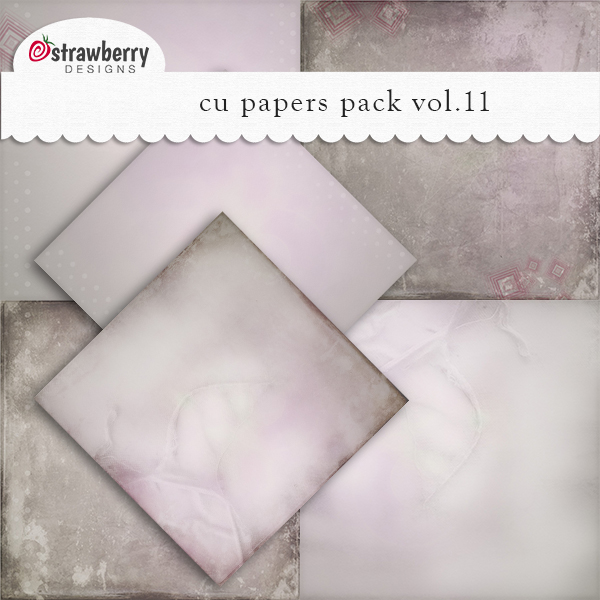 Papers Vol 11 Light Pink by Strawberry Designs